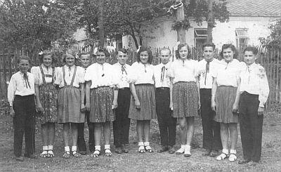 Kácení máje - rok 1946